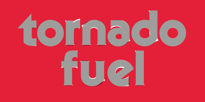 Tornado Fuel logo lettering
