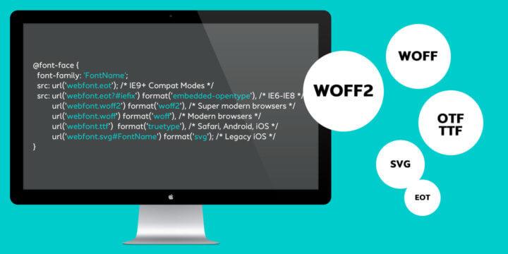 CFF Webfonts