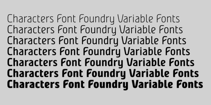 FAQ Variable Fonts