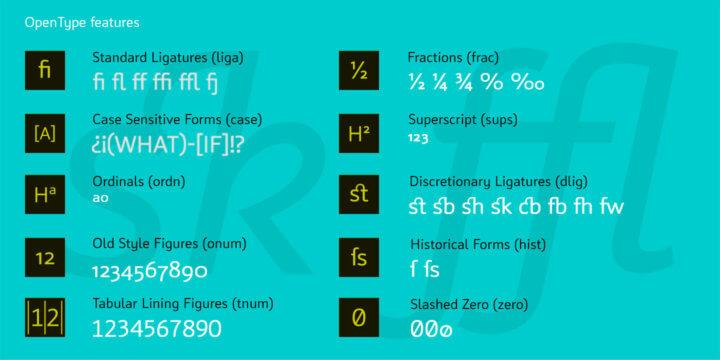 Type Specimen CFF Insider Pro legible humane typeface